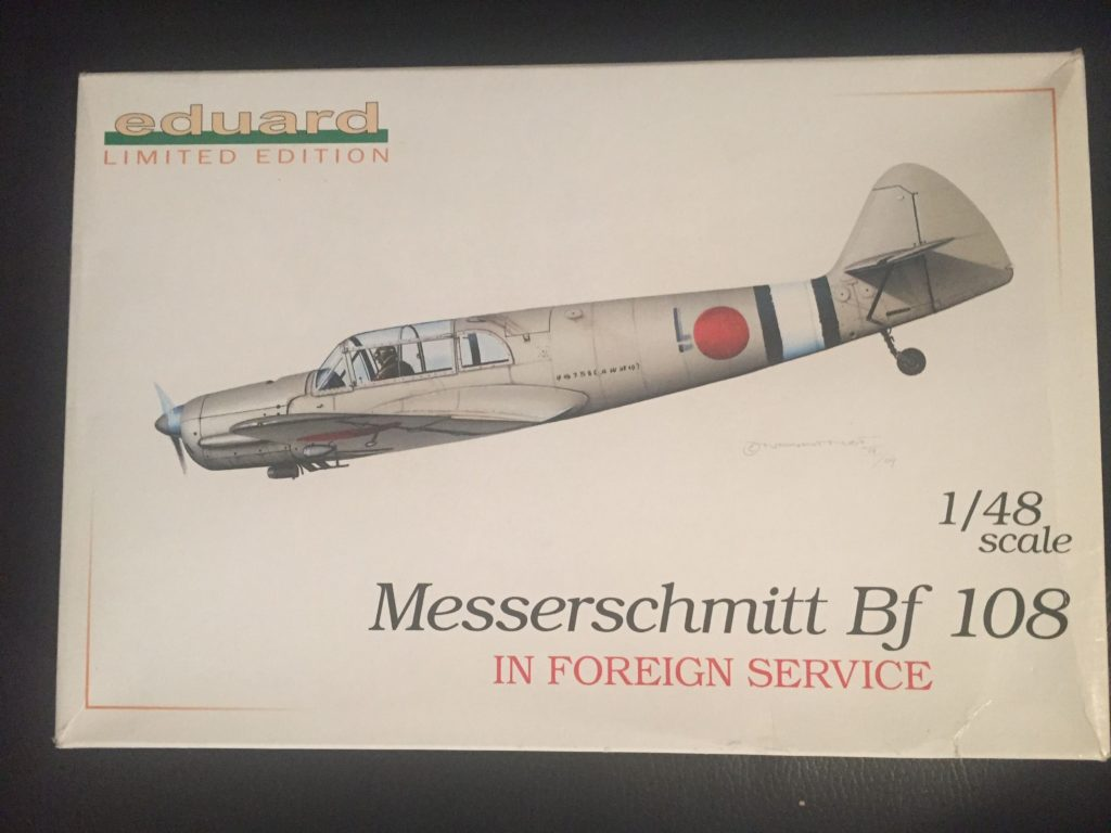 Messerschmitt Bf108 Box 0001