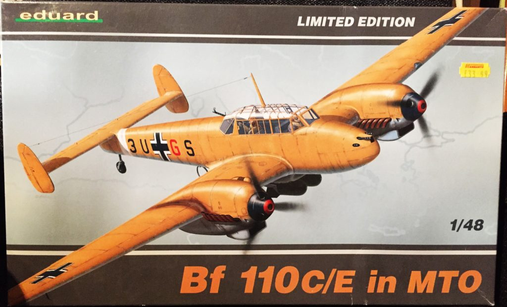 Messerschmitt Bf 110C Box 001