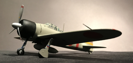Mitsubishi A6M2 Zero finished 001