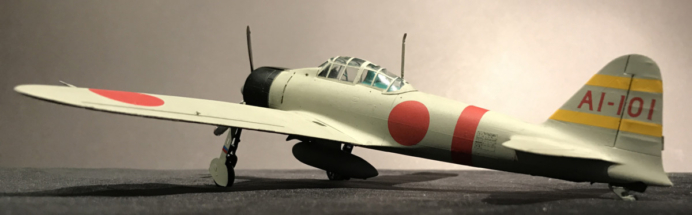 Mitsubishi A6M2 Zero finished 002