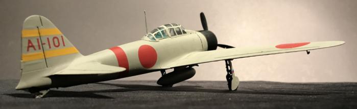 Mitsubishi A6M2 Zero finished 003