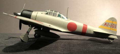 Mitsubishi A6M2 Zero finished 006
