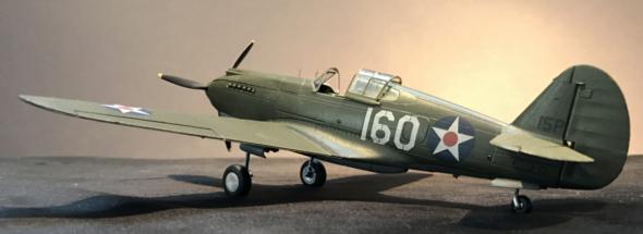 P-40B Warhawk Finished 001