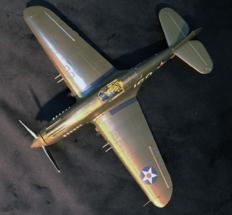 P-40B Warhawk Finished 002