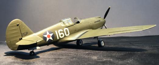 P-40B Warhawk Finished 003
