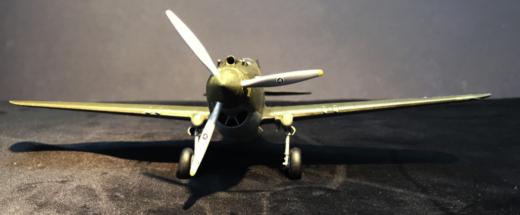 P-40B Warhawk Finished 004