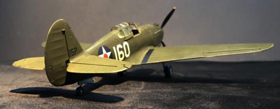 P-40B Warhawk Finished 005
