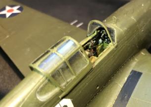 P-40B Warhawk Finished 007