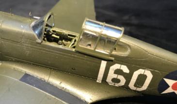 P-40B Warhawk Finished 008