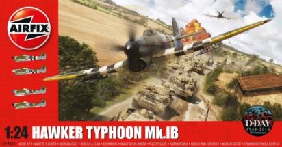 Hawker Typhoon Airfix 1-24 Box 001d
