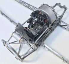 Hawker Typhoon Airfix 1-24 Cockpit frame 004