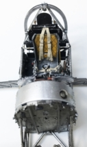 Hawker Typhoon Airfix 1-24 Cockpit frame 005