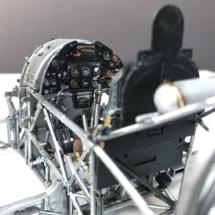 Hawker Typhoon Airfix 1-24 Cockpit frame 009