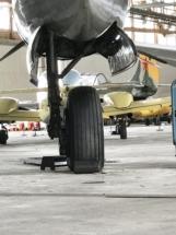 Douglas A-26 Invader landing gear 002