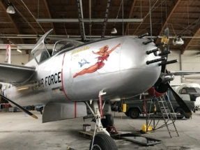 Douglas A-26 Invader nose 014