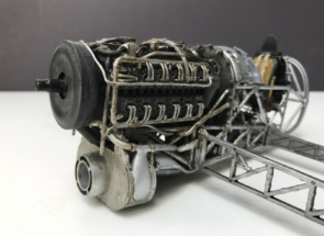 Hawker Typhoon Airfix 1-24 Engine 007