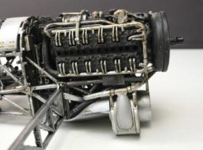 Hawker Typhoon Airfix 1-24 Engine 008