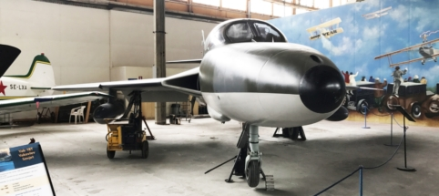 Hawker Hunter (Two seater) 001