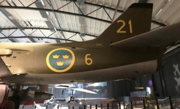SAAB A32A Lansen 013