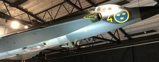 SAAB J 35D Draken 001