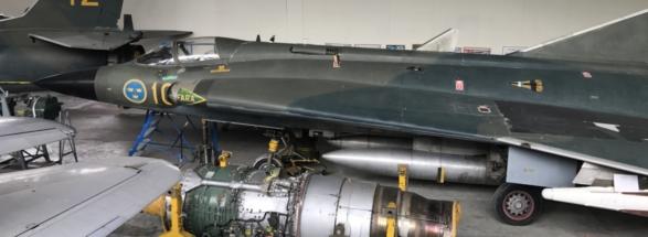 SAAB J 35F Draken Vä 001