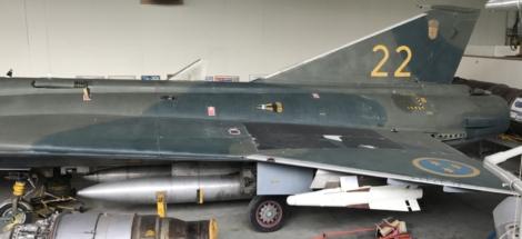SAAB J 35F Draken Vä 003