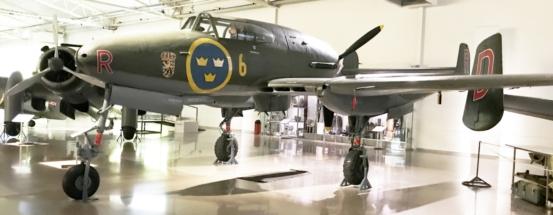 Saab J 21A 001