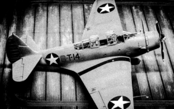 Douglas TBD-1 Devastator Finished B&W 003