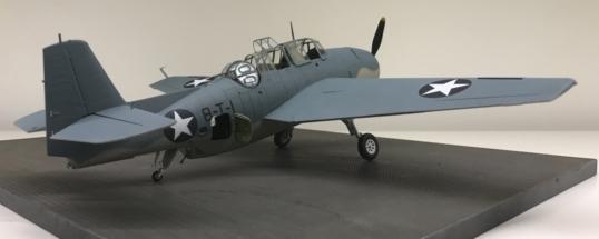 Grumman TBF-1C Avenger Finished 008