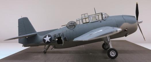 Grumman TBF-1C Avenger Finished 009
