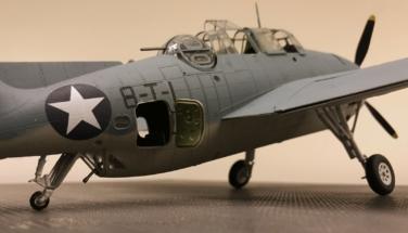 Grumman TBF-1C Avenger Finished 010