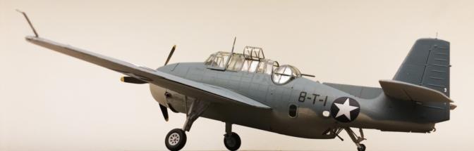Grumman TBF-1C Avenger Finished 011