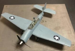 Grumman TBF-1C Avenger Finished 012