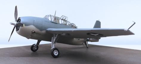 Grumman TBF-1C Avenger Finished 014