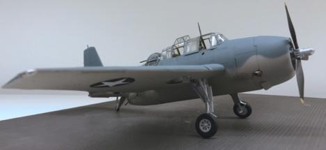 Grumman TBF-1C Avenger Finished 015