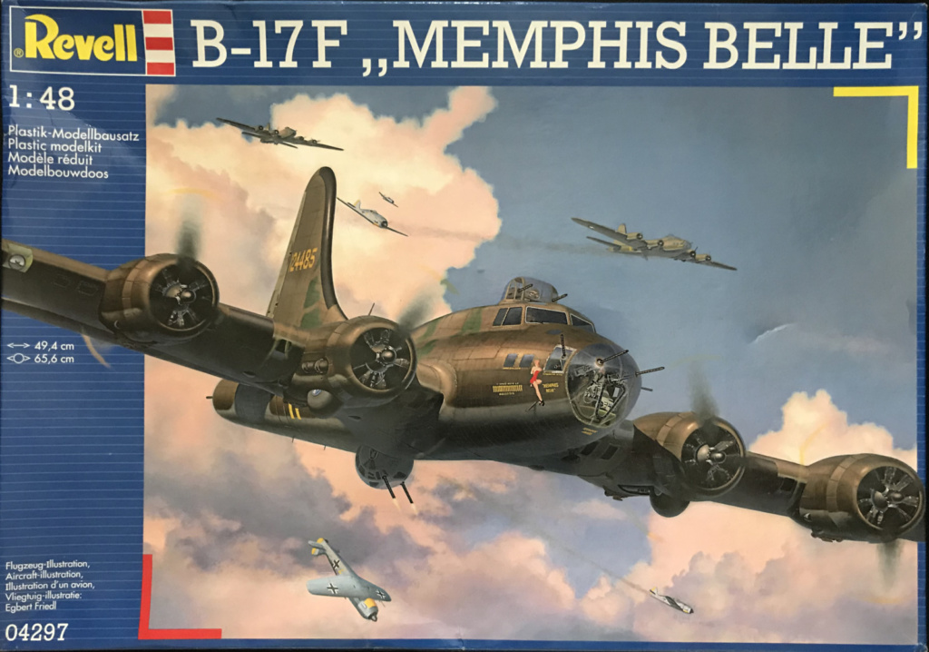 "Boxart of the B-17F ""Memphis Belle"""