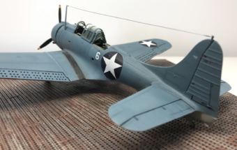 Douglas SBD-2 Dauntless Finished 014