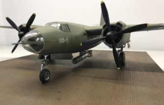 Martin B-26B Marauder finished 007
