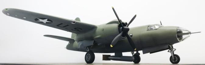 Martin B-26B Marauder finished 010
