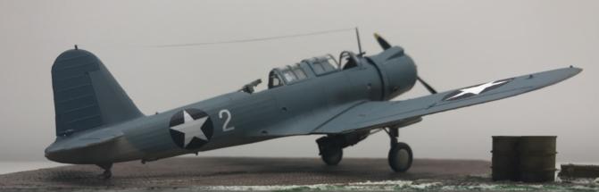 Vought SB2U-3 Vindicator finished 001