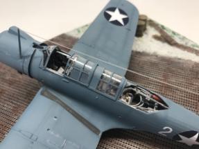 Vought SB2U-3 Vindicator finished 007