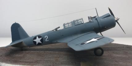 Vought SB2U-3 Vindicator finished 013