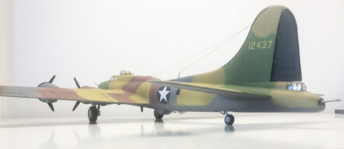 Boeing B-17F (E) Flying Fortress finished 005