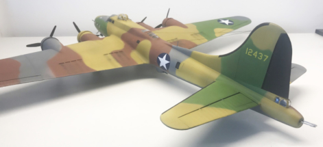 Boeing B-17F (E) Flying Fortress finished 006
