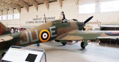 Hawker Hurricane Mk. IIB - head -- 001