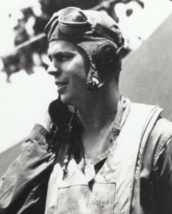 The pilot that shot down Admiral Yamamoto, Lt. Rex Barber